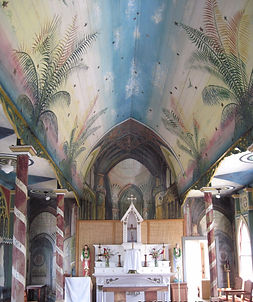 St. Benedict painted church hawaii