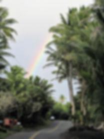 Kehena Puna Hawaii rainbow