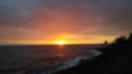 Hawaii sunset big island