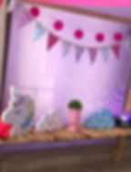decoracao unicorni