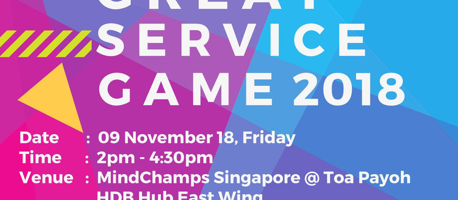 Yes, KUNDE! The Great Service Game Play Sessions are back by popular demand!