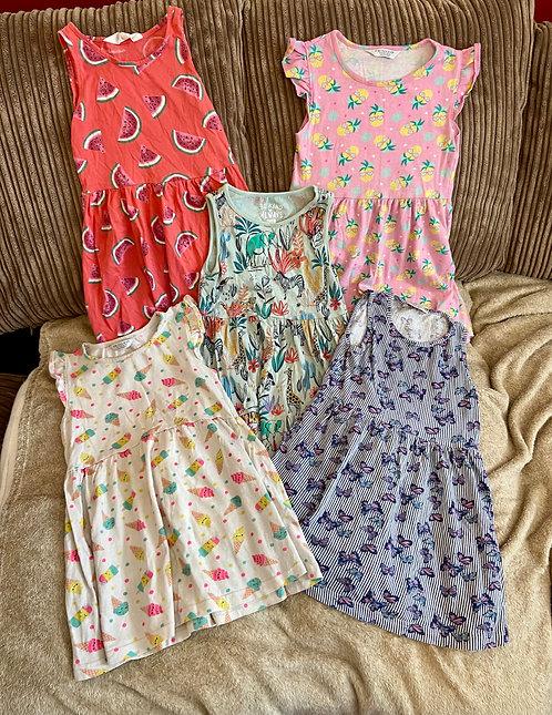5x dresses 5-6 years