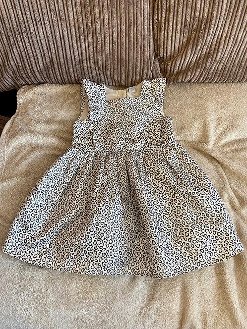 Animal Print Dress 5-6 years