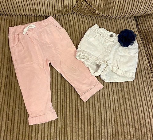 9-12 months trousers and shorts