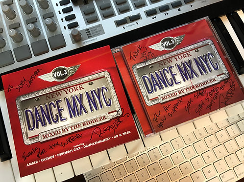 Dance Mix NYC Vol 3 Autographed