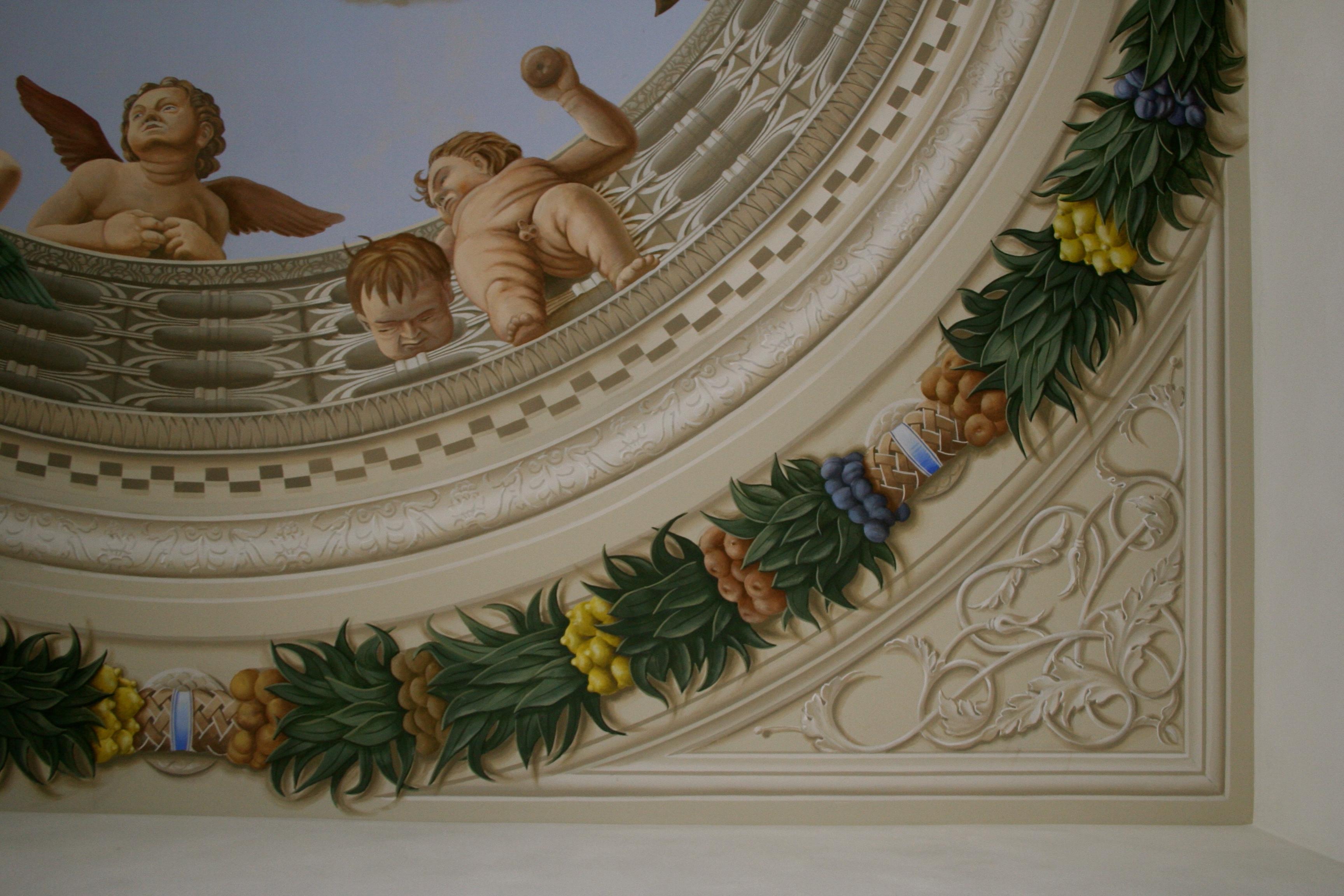 camera sposi decorazione
