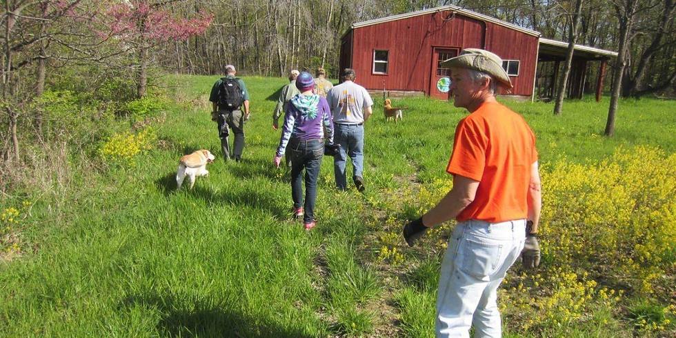 Stewardship Saturday at Warbler Ridge