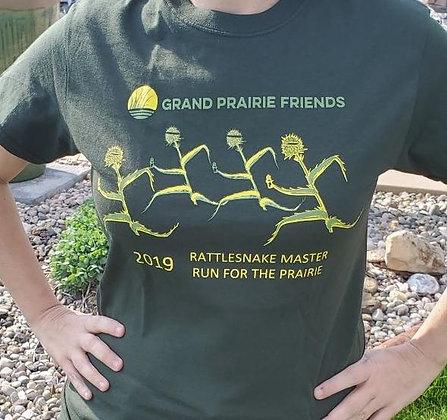 Grand Prairie Friends Unisex Green 2019 Rattlesnake Master Crew Neck
