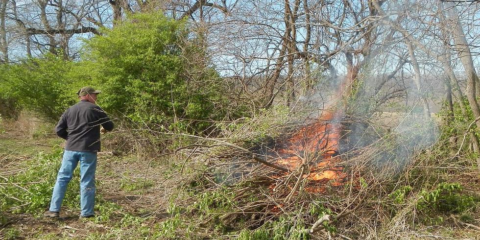 Stewardship Saturday at Warbler Ridge Conservation Area