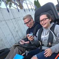 TVYSS - Texting and Go Kart.JPG