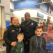 Shop with a Sheriff - Sunada and Dozier.