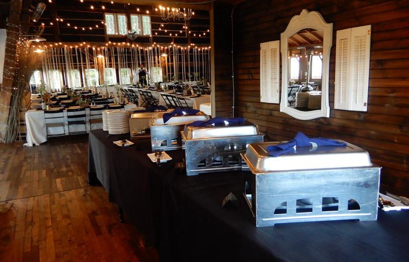 buffet area