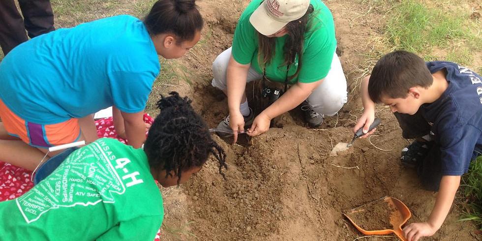 4-H Mini Day Camp: Farmstead  Archaeology