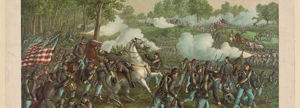 Kurz & Allison. Battle of Wilson's Creek
