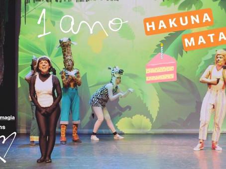1 Ano de Hakuna Matata - O Musical