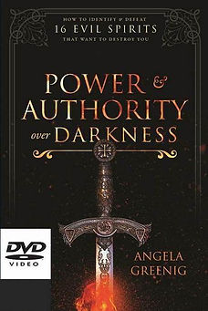 Power & Authority Over Darkness DVD Fron