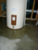 photo of leaky water heater