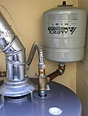 photo water heater with expansion tank