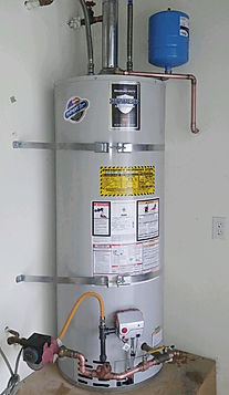 complete water heater installation