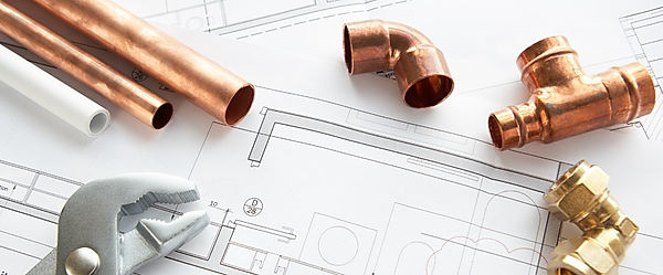 photo of pipe and copper