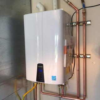 Navien tankless gas water heaters