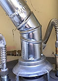 photo gas flue pipe