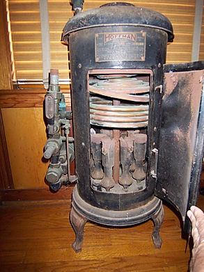 photo old hoffman tankless water heater