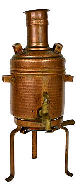 copper water heater