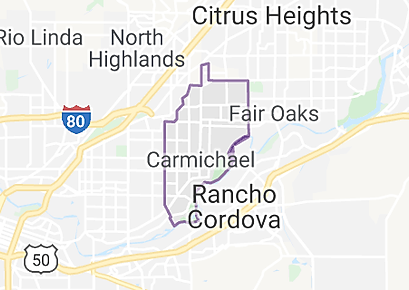 Carmichael, CA image map.png
