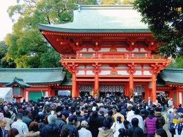 初詣雑感 氷川神社に詣でて