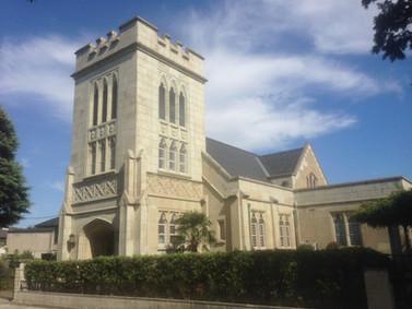 プロテスタント発祥の地を訪ねて 横浜海岸教会