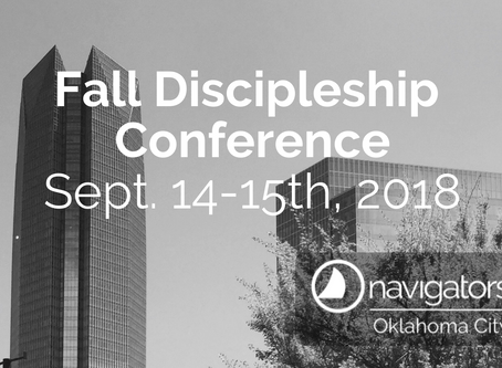 Reflections: 2018 Fall Discipleship Conference