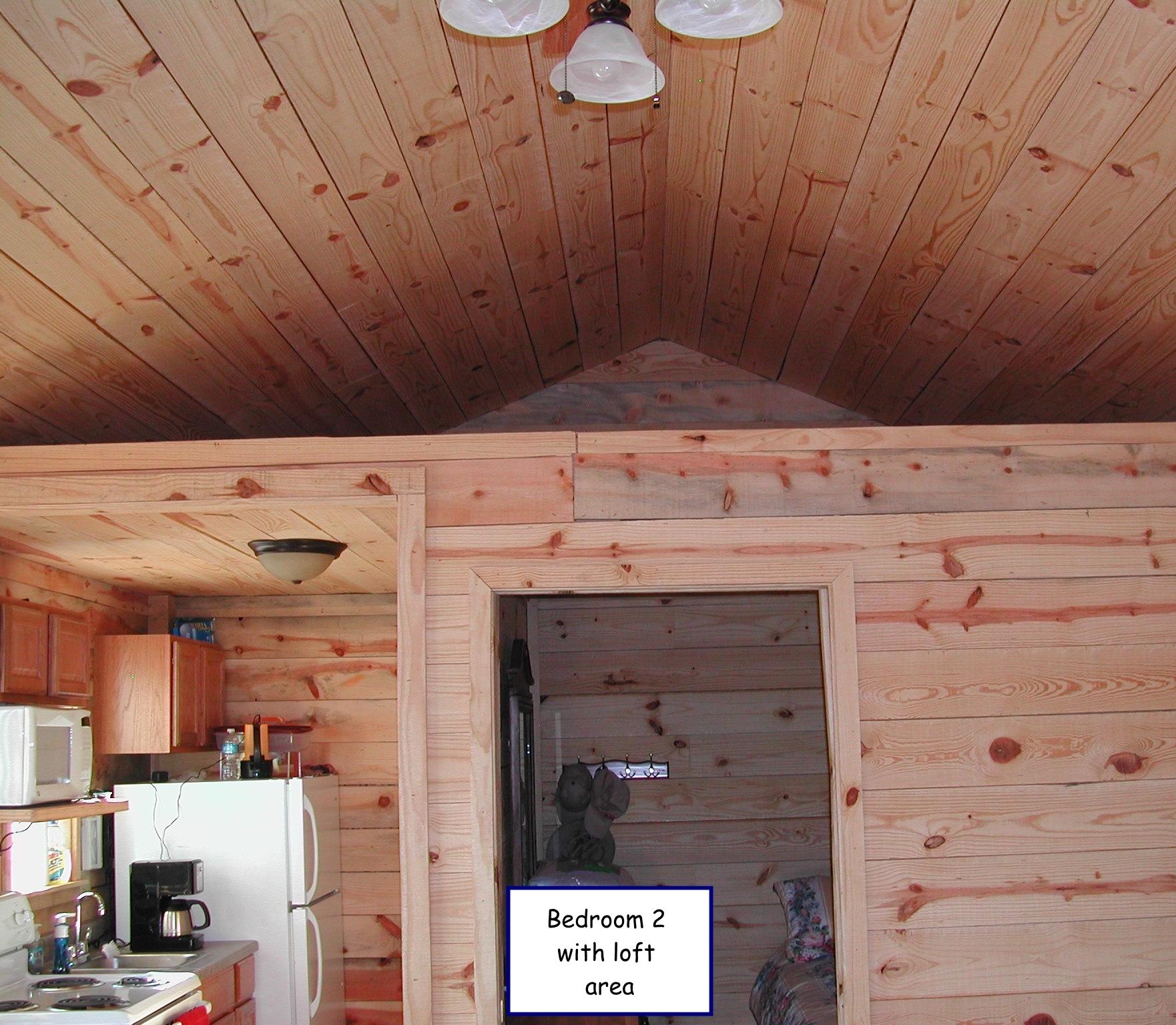 Bedroom 2 wt loft