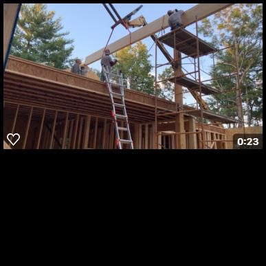 2nd beam being set web