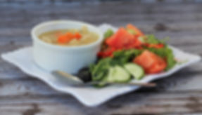 chicken noodle soup with salad.jpg