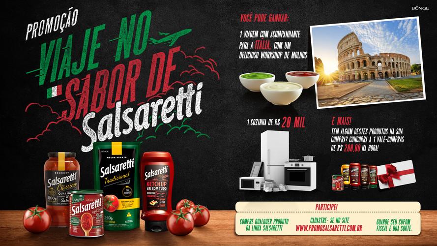 Salsaretti - Promo Key Visual