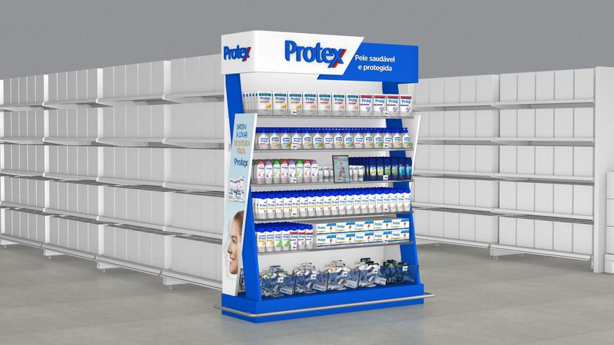 Protex - Shopper 3d project Display