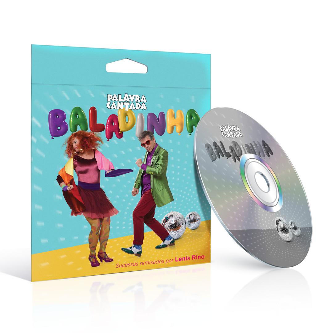 Palavra Cantada - CD Cover Design