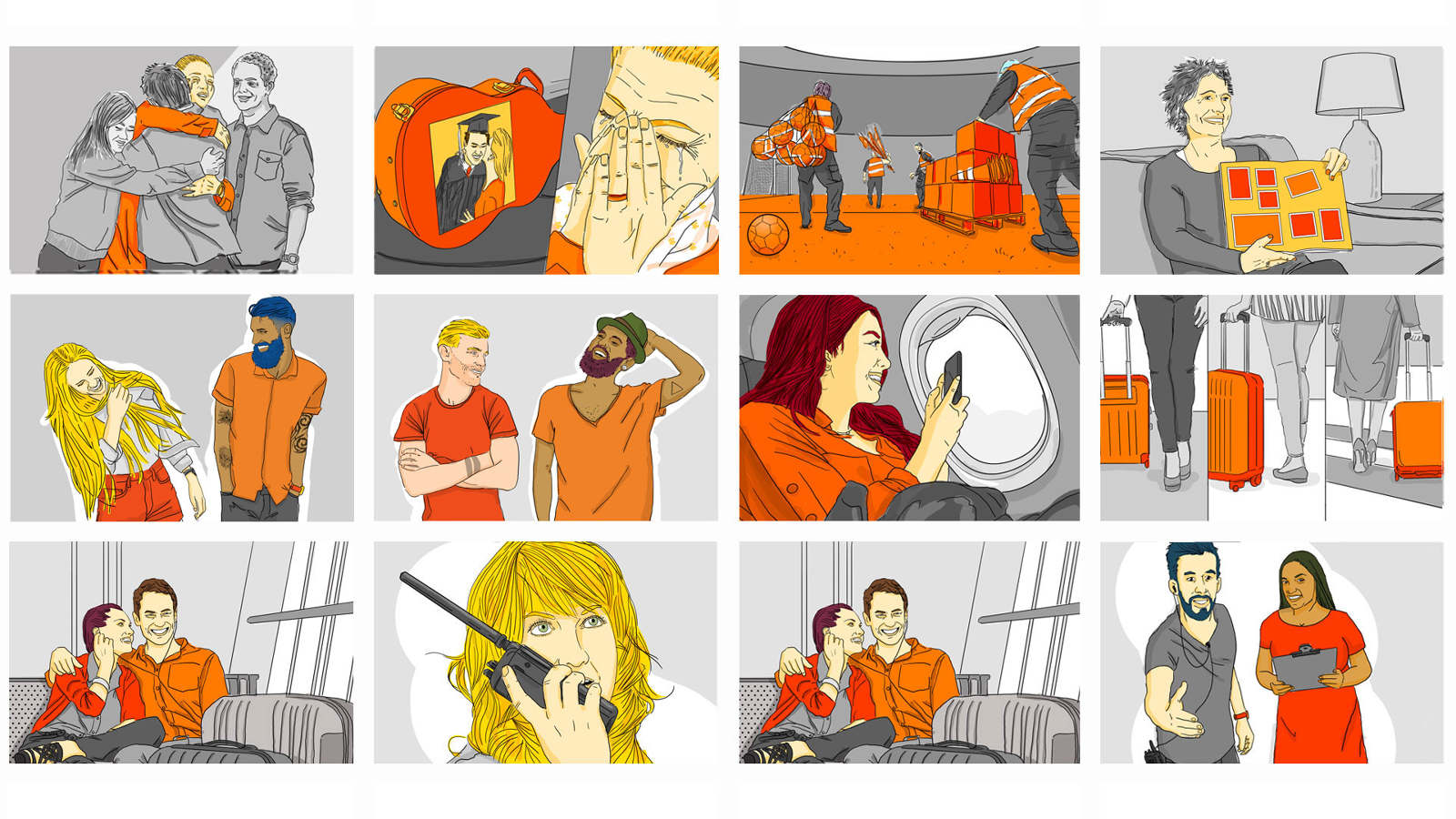 Gol airlines - Storyboard
