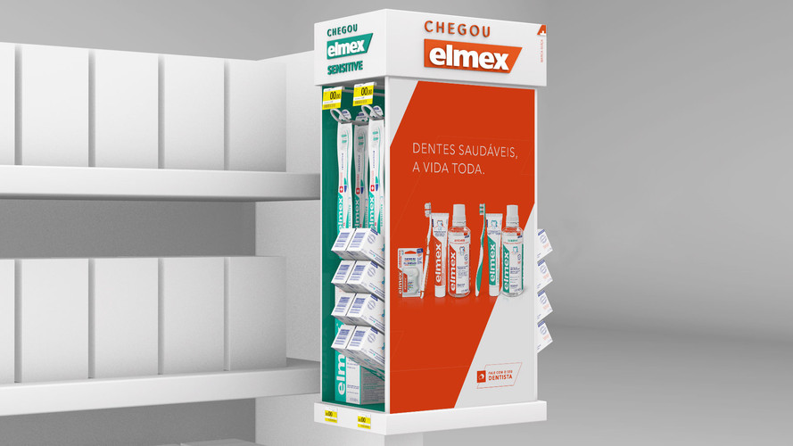 Elmex - Shopper 3d Concept
