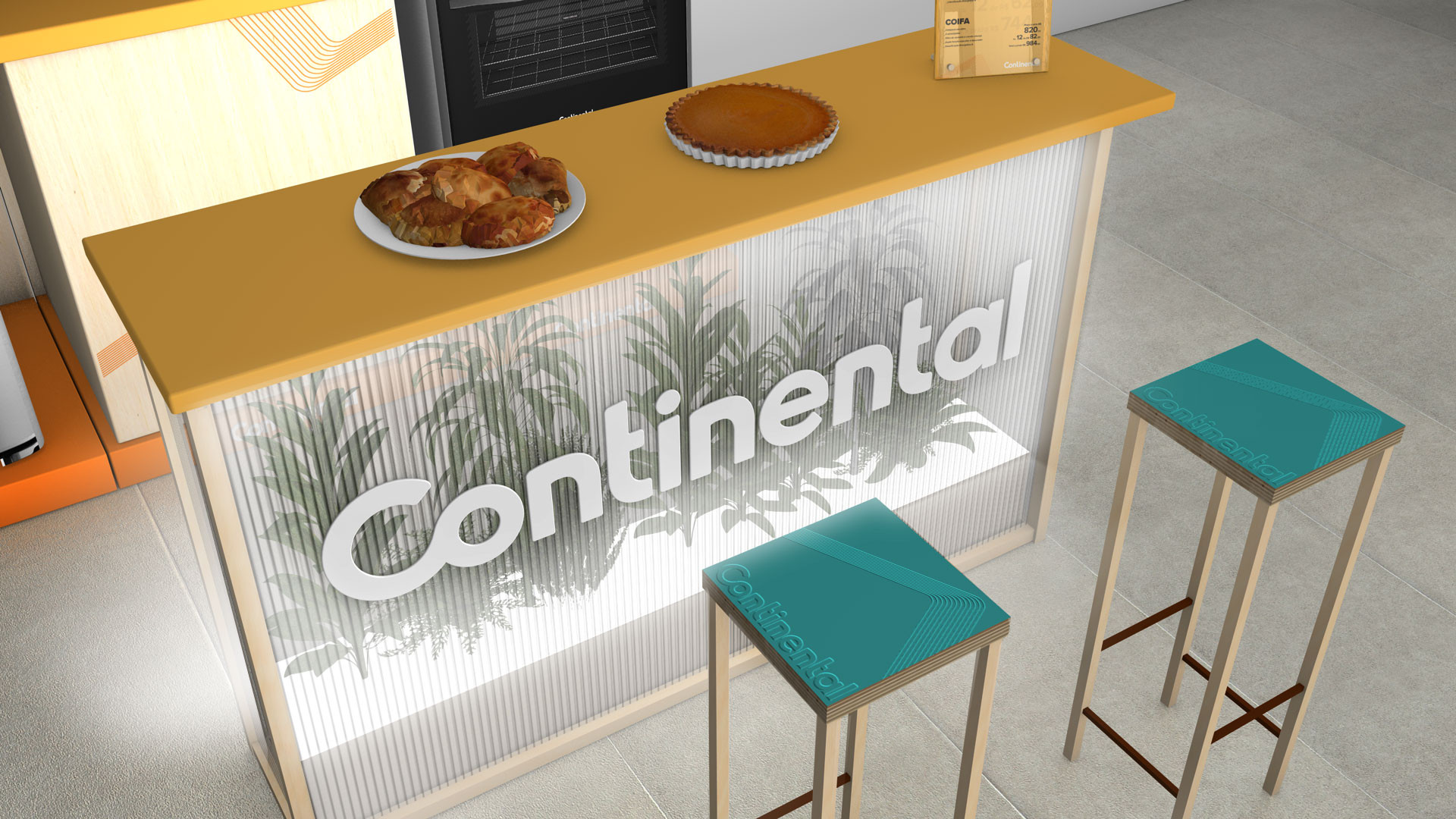 Continental - Design POP / Creative Concept