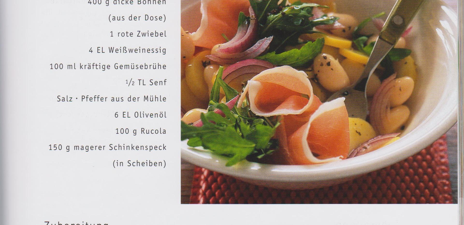 Kartoffel Bohnen Salat