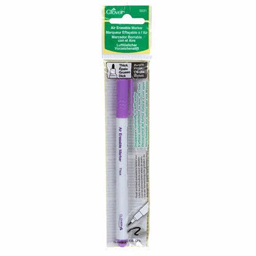 Air Erasable Marker Thick Purple