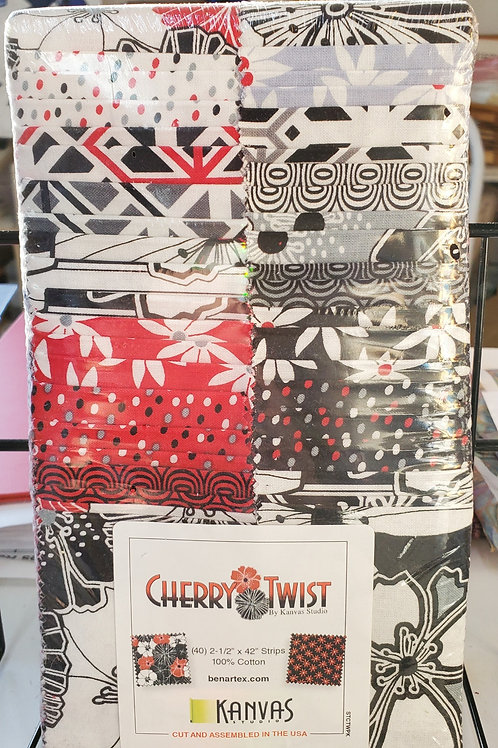 "Cherry Twist 2.5"" Strip Set"