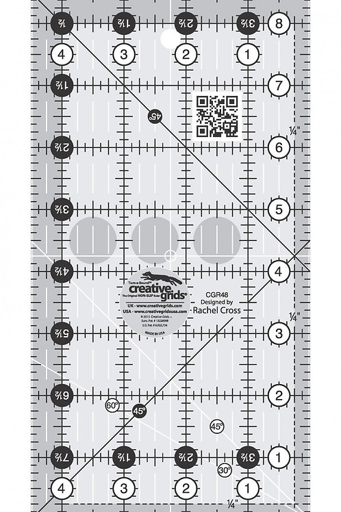 "Creative Grids Ruler 4.5"" X 8.5"""