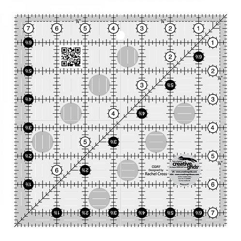 "Creative Grids Ruler 7.5"" Square"