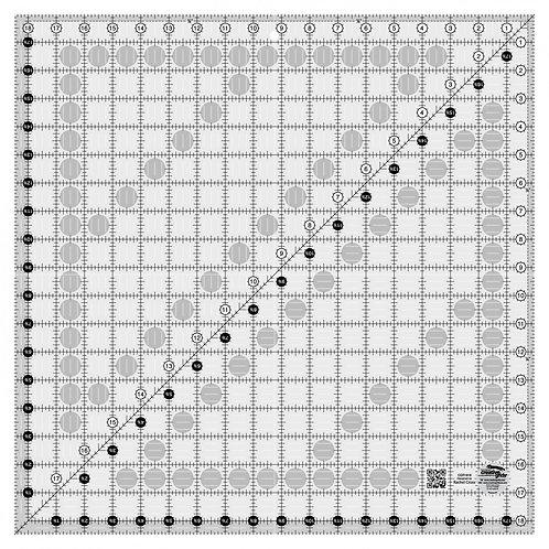 "Creative Grids Ruler 18.5"" Square"