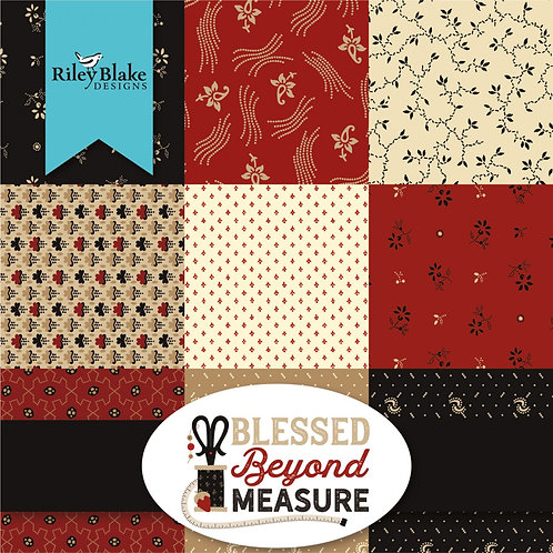 "Blessed Beyond Measure 5"" Squares Charm Pack"