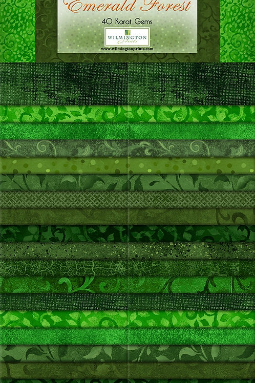 """Emerald Forest 2.5"""" Strips 40 pcs"""
