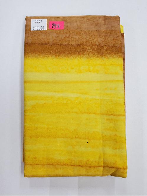 Batik # 87 - Sunset